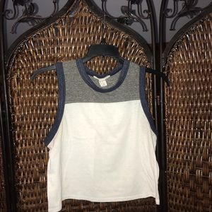 Forever 21 cropped tank top
